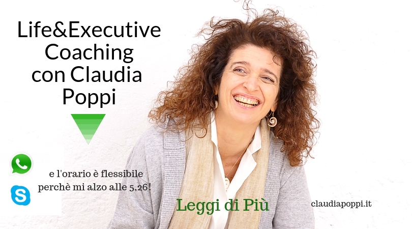 Claudia Poppi Executive Coaching Counseling Bologna